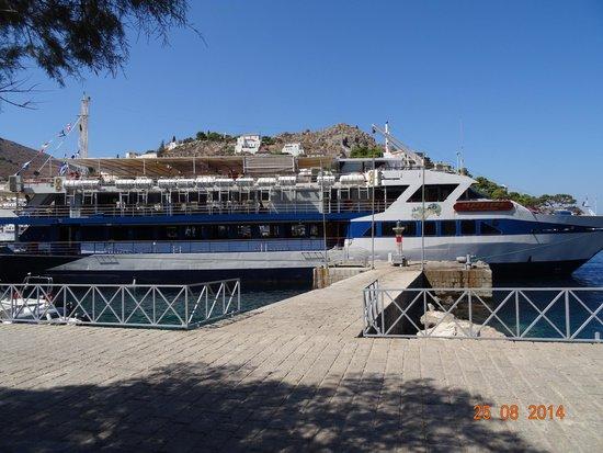 Hotel King Saron : bateau de croisiere