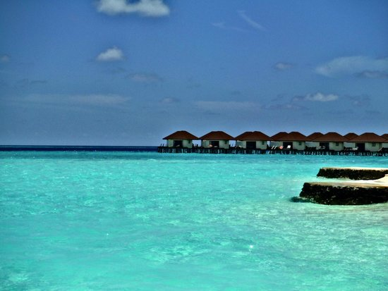 Alimatha Aquatic Resort: over-water
