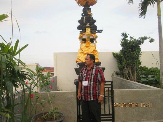Praja Hotel Bali : arena di lantai 4