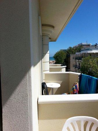 Hotel Helvetia : Vista mare