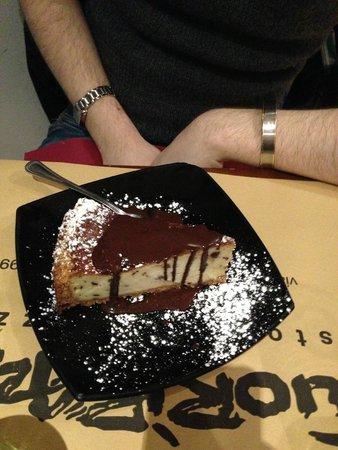 Fuori Piazza: Cheesecake al cioccolato