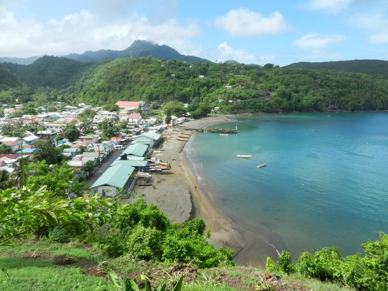 Real St. Lucia Tours : Overlooking fishing village