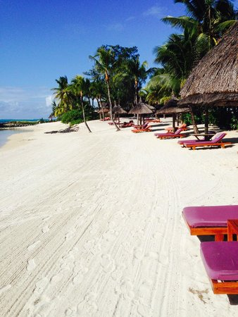 Constance Prince Maurice: Beach