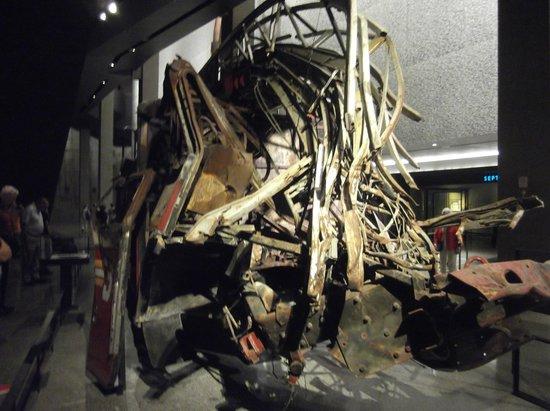 National September 11 Memorial und Museum: An exhibit