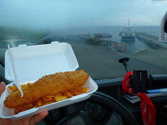The Cabin at John O'Groats : Haddoc & Chips
