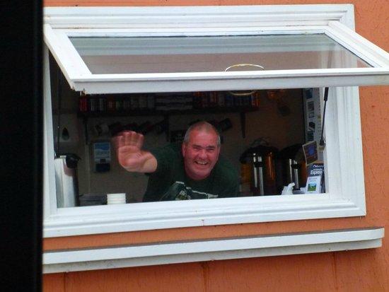 The Cabin at John O'Groats : Friendly