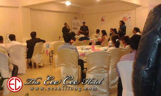 The Eee Cee Hotel: Business Conference at our banquet hall
