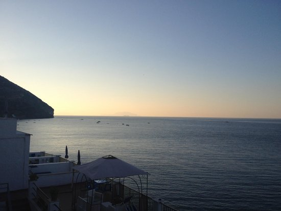 Hotel Regina del Mare: Vista mare