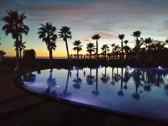 Salgados Dunas Suites : sunset