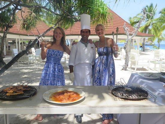 Diamonds Athuruga: The friendly BBQ chef