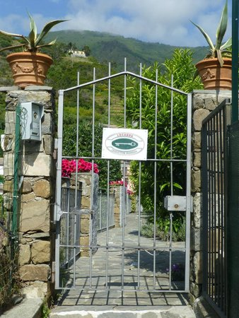 Gate to Cinqueterre Residence