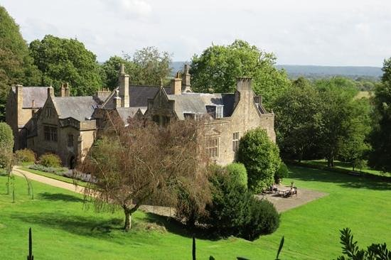 Clevedon Court: from the higher terrace
