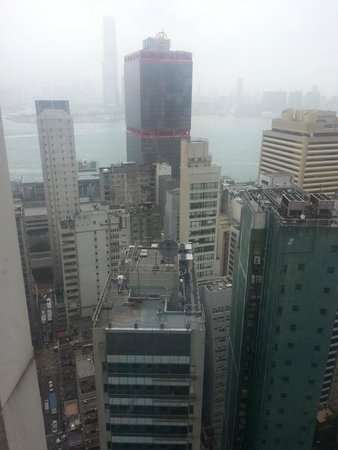 Holiday Inn Express HONG KONG SOHO: view from the upper floors