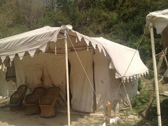 Elephant Brook Resort Swiss Tents & Swiss Tents - Picture of Elephant Brook Resort Rishikesh ...