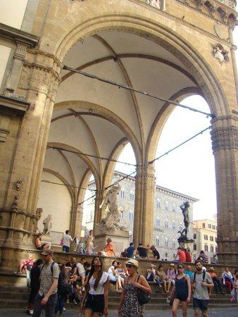 Piazza della Signoria: open air sculptures museum