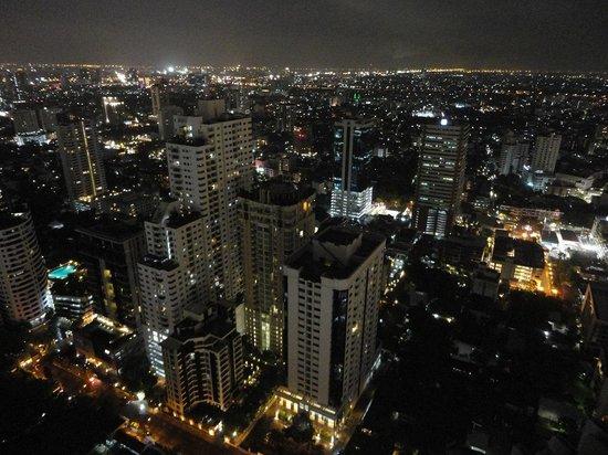 Bangkok Marriott Hotel Sukhumvit: バーの眺め