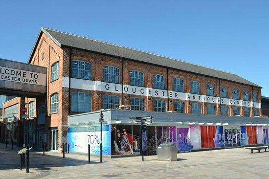 Gloucester Quays Antiques Centre
