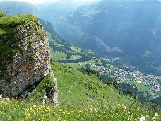 Männlichen: View from Mannlichen