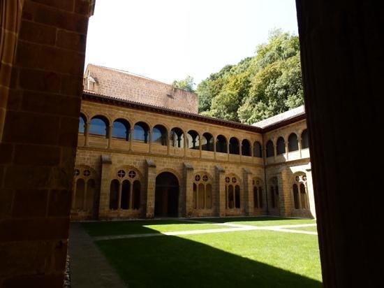San Telmo Museoa: Courtyard of San Telmo Museum