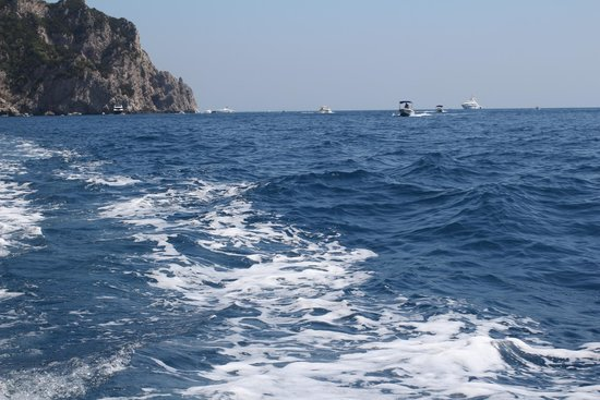Gianni's Boat: Capri from the boat