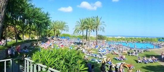 Vilanova Park: view from terrace bar