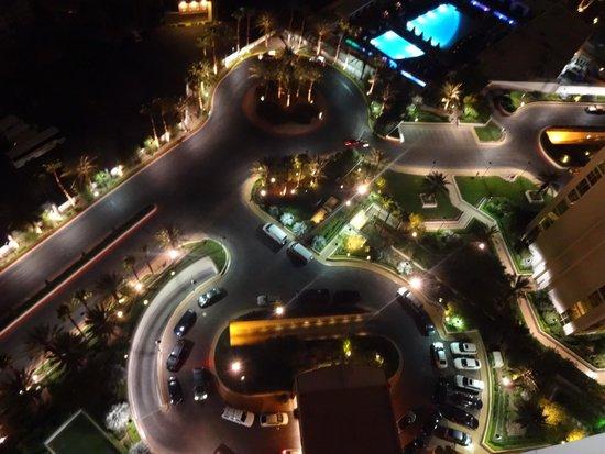 Signature at MGM Grand: View at night!