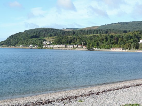 Selborne Hotel: view of dunoon
