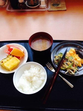 Hotel Hokke Club Naha Shintoshin: 朝食、ほかにもたくさん種類ある