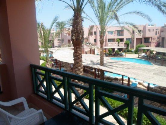 Rehana Sharm Resort: вид с балкона