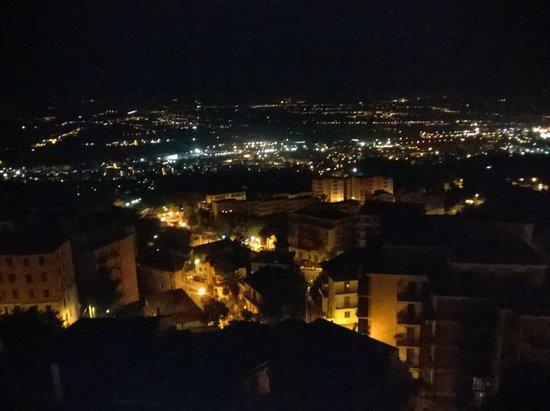 Grande Albergo Abruzzo: Panorama - Night