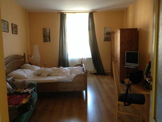 Hotel U krale: Una de las dos habitaciones Apartmány U Krále
