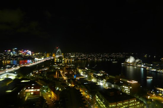 Quay West Suites Sydney: The View From Our Apartment
