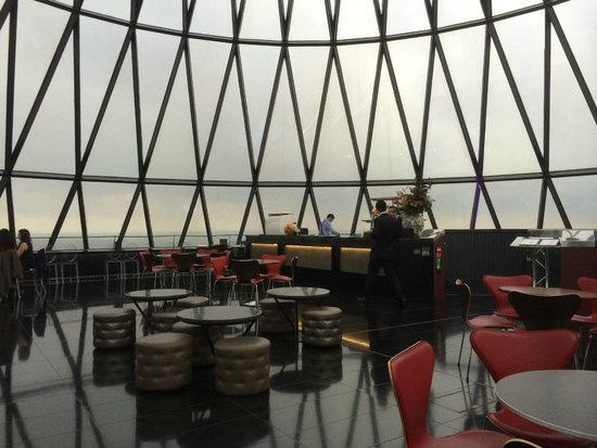 Searcys | The Gherkin : Bar with 360 View