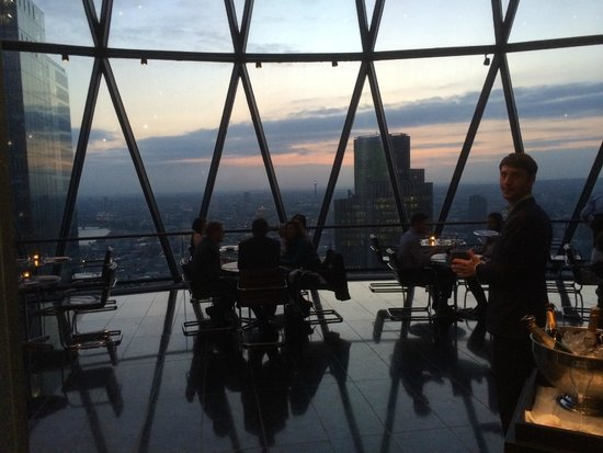 Searcys | The Gherkin : Restaurant View