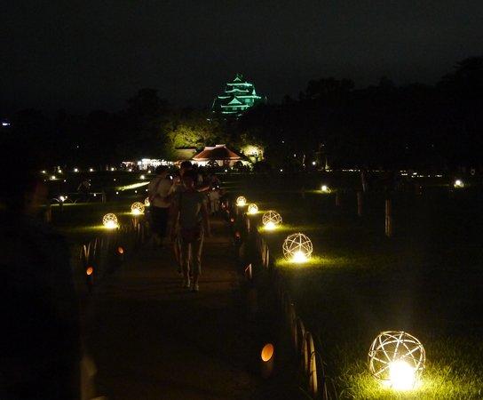 Korakuen Garden: 岡山城