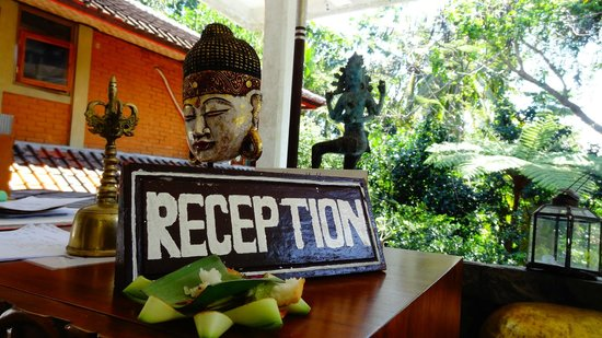 B&B Home Stay Griya Jungutan: Reception
