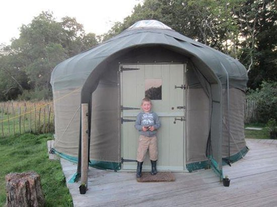 Stock Gaylard Yurts: This was our yurt.