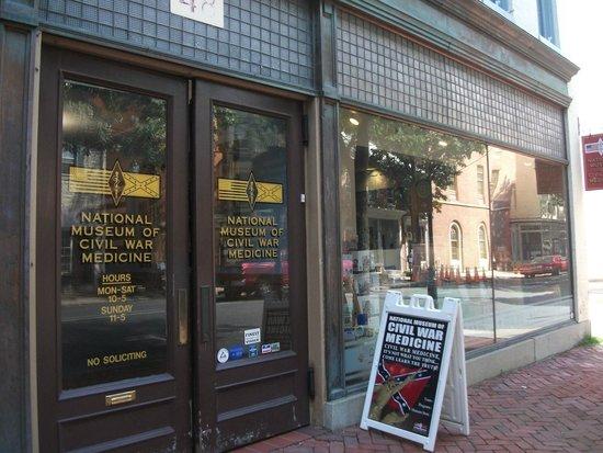National Museum of Civil War Medicine: Facade