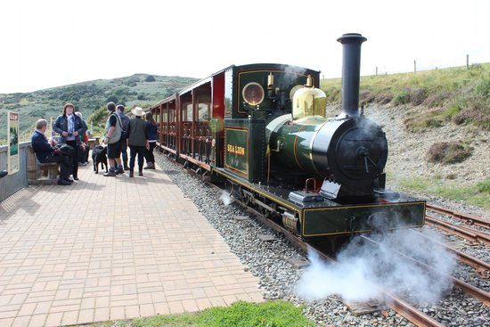 Groudle Glen Railway: The steam loco Sea Lion