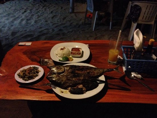 Maria's Boemboe Bali Waroeng: Tuna Grill. Was very good