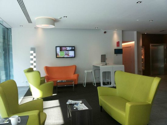Novotel Mechelen Centrum: Lounge