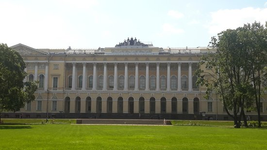 Michael Garden (Mikhaylovskiy Sad): Вот он Русский музей