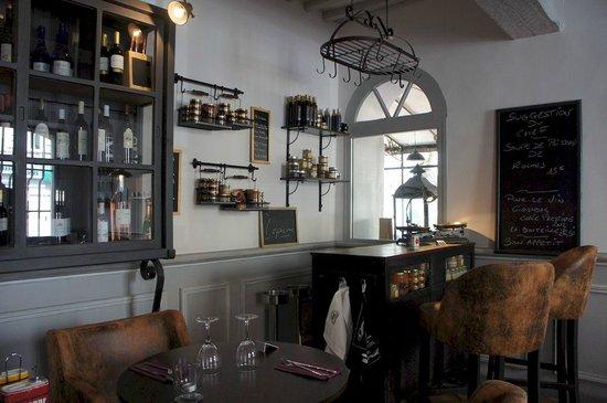 Hôtel de France : Salon Restaurant Côté Jardin