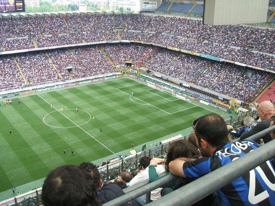 Stadio Giuseppe Meazza (San Siro) : Stadium inside