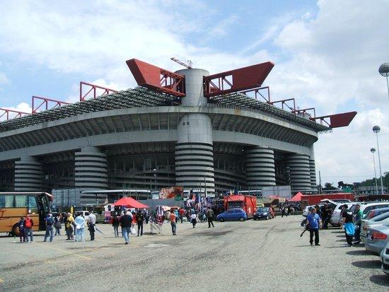 Stadio Giuseppe Meazza (San Siro) : The Giuseppe Meazza stadium