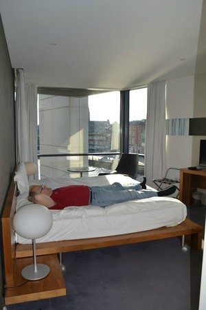 The d Hotel Drogheda: Very comfortable bed