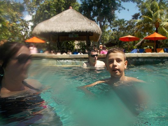 Waterbom Bali: just chillin in the pool