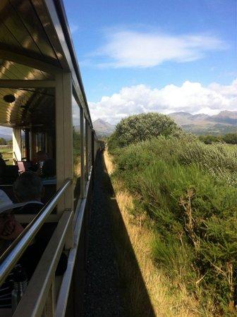 Ffestiniog & Welsh Highland Railways: Views to die in