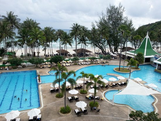 Le Meridien Phuket Beach Resort: View from our room.