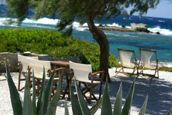 Nefeli Sunset Studios: Nefeli grounds and access to beaches